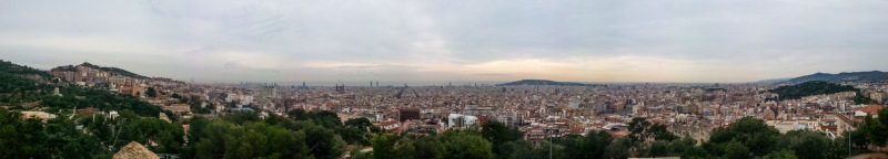As seen from Parc Güell
